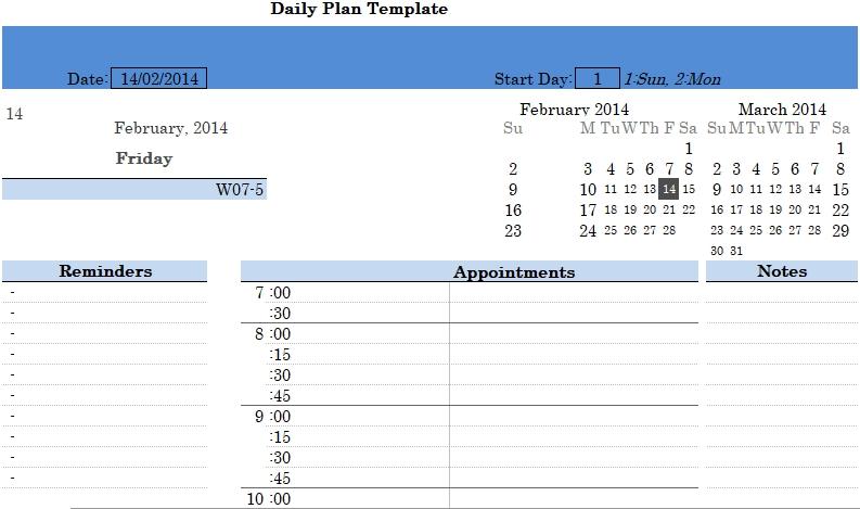 college class schedule 1