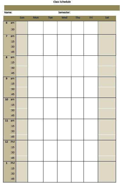 college class schedule download1