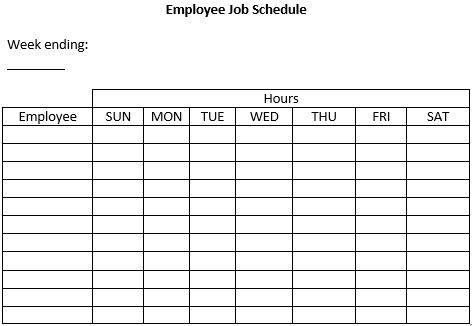 Employee Job