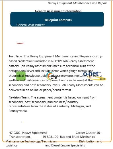 Heavy Equipment Maintenance Schedule