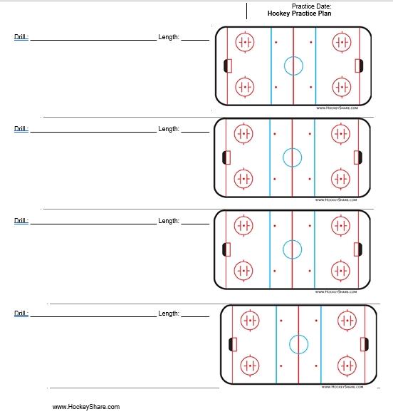 Hockey Practice Schedule