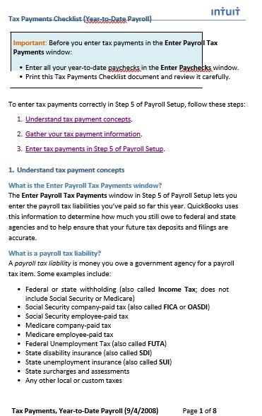 Payroll Deposit Schedule Sample