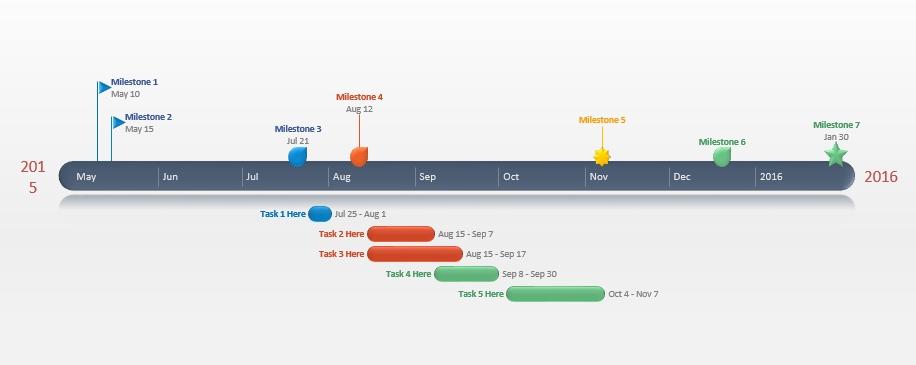 PowerPoint Timeline WS