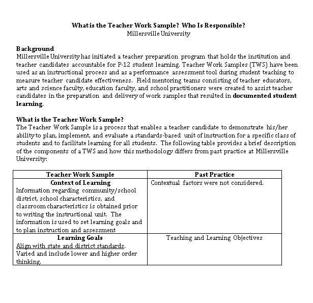 Teacher Schedule in Word Doc