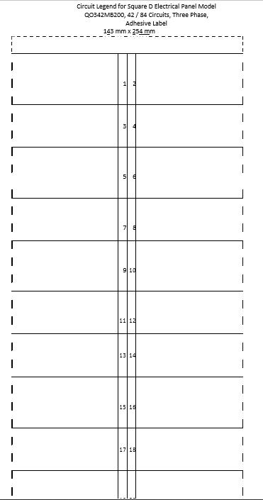 panel schedule template 3